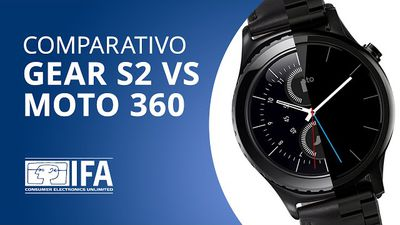 Gear S2 VS Moto 360: quem ganha a batalha dos smartwatches? [Comparativo   IFA 2015]