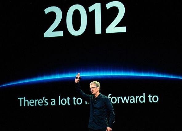 Tim Cook anúncio Q3 2012