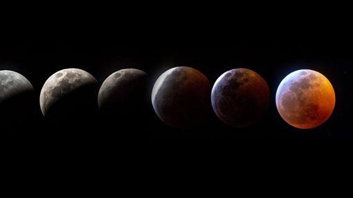 Se você perdeu o eclipse lunar, não deixe de se maravilhar com estas imagens