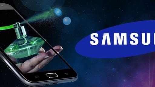 Patente da Samsung revela celular com 'capa perfumada'