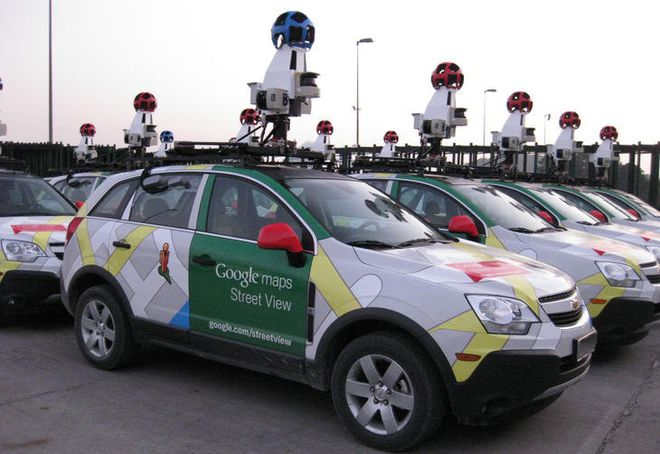 Carros Google Street View