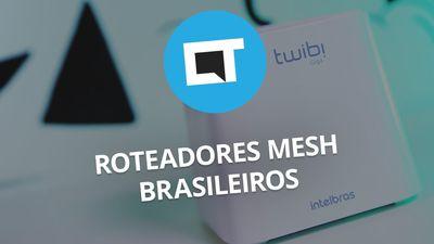 Roteadores Wi-Fi Mesh nacionais