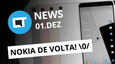 Nokia volta em 2017 com smartphones Android; Trump banido do Twitter e + [CTNews