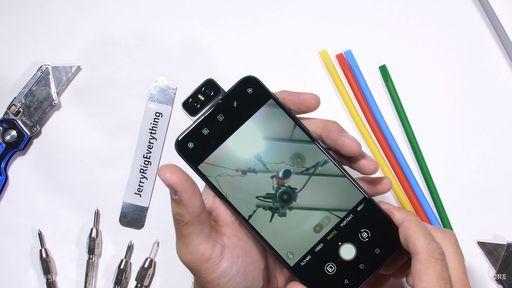 Zenfone 6 passa por testes pesados de resistência em novo vídeo