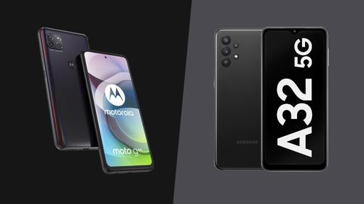 Galaxy A32 5G vs Moto G 5G: qual é o melhor celular 5G barato?