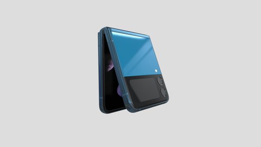 Samsung pode lançar Galaxy Z Flip 3 na elegante cor Navy Blue