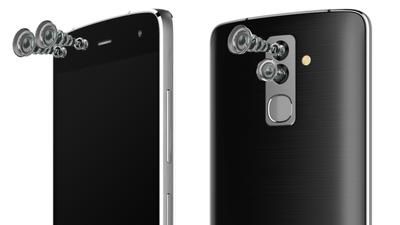 Alcatel anuncia o Flash, primeiro smartphone do mundo com quatro câmeras