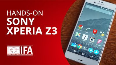 Sony Xperia Z3 [Hands-on | IFA 2014]