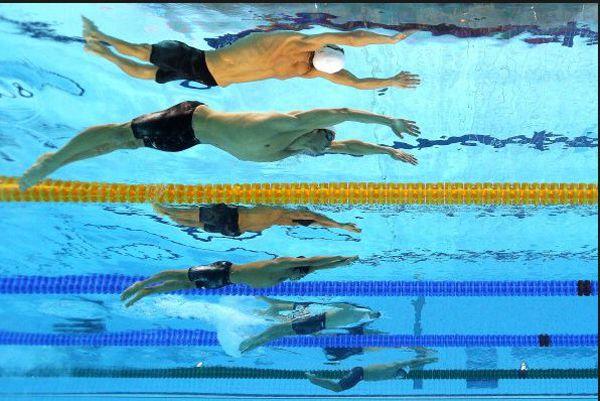 Fotos aquáticas das Olimpíadas