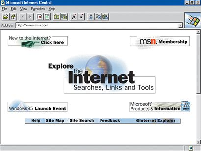 Internet Explorer 1.0