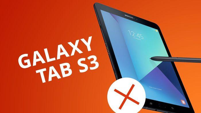 fb3f2691290 5 motivos para NÃO comprar o Galaxy Tab S3 - Vídeos - Canaltech