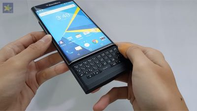 Vídeo mostra novo BlackBerry Priv rodando Android Marshmallow; confira