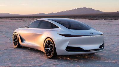Infiniti revela conceito de seu primeiro carro elétrico