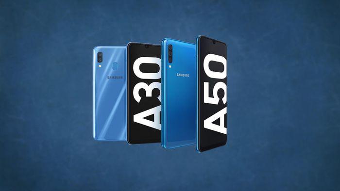 Samsung apresenta Galaxy A30 e A50 com notch em gota e