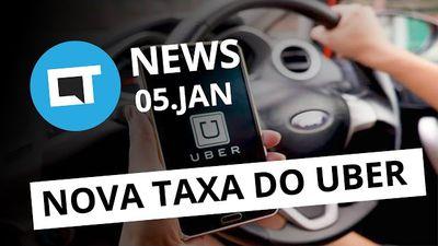 Nova taxa do Uber, Netflix contratando no Brasil, hack pornô do Uol e + [CT News