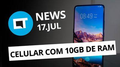 Galaxy S10 em três versões; Vivo e Oppo com 10 GB de RAM e + [CT News]