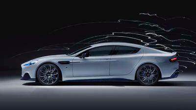 Salão de Xangai   Aston Martin mostra seu primeiro carro elétrico