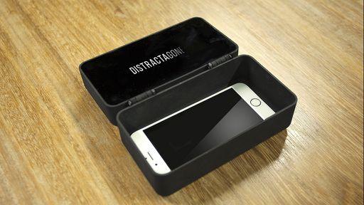 """Distractagone: uma caixa para você """"dar um tempo"""" do seu smartphone"""