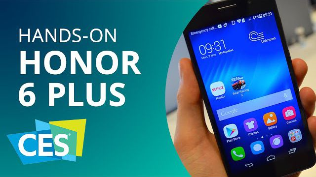 Huawei Honor 6 Plus  o smartphone com 3 câmeras da chinesa  Hands-on   CES  2015  - Vídeos - Canaltech b78f0e6200