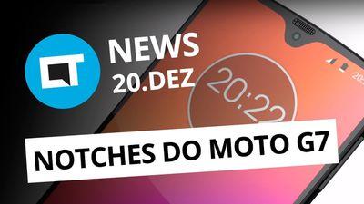 """Moto G7 pode ter 4 modelos; iPad Pro torto """"não é defeito"""" e + [CT News]"""