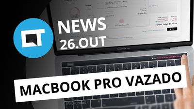 "MacBook Pro vazado; Leitor de digitais no Galaxy S8; ""Prisma"" do Facebook e +"