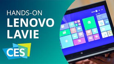 Lenovo LaVie, o Ultrabook mais leve do mundo [Hands-on | CES 2015]
