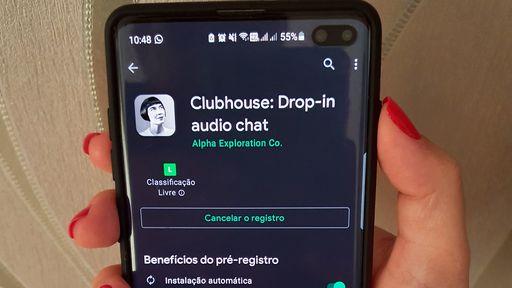 Clubhouse atinge a marca de 2 milhões de downloads no Android