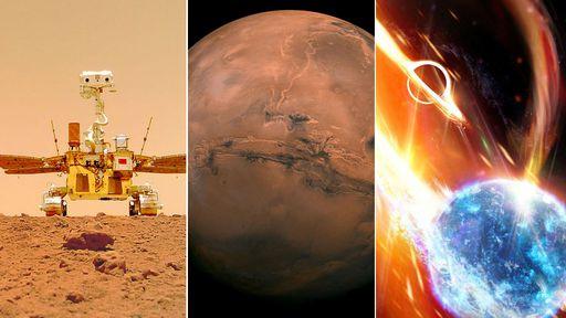 O céu (não) é o limite | Sucesso da China em Marte, colisão cósmica e mais
