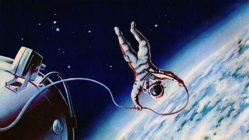 Há 55 anos, o cosmonauta Alexei Leonov fazia o primeiro spacewalk da história