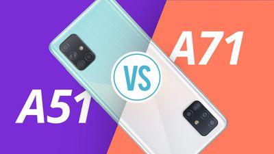 Samsung Galaxy A51 vs Galaxy A71 [COMPARATIVO]