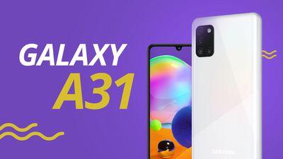 Galaxy A31: um intermediário que foca em autonomia de bateria [ANÁLISE/REVIEW]