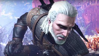 Atualização gratuita insere Geralt de Rivia no mundo de Monster Hunter World