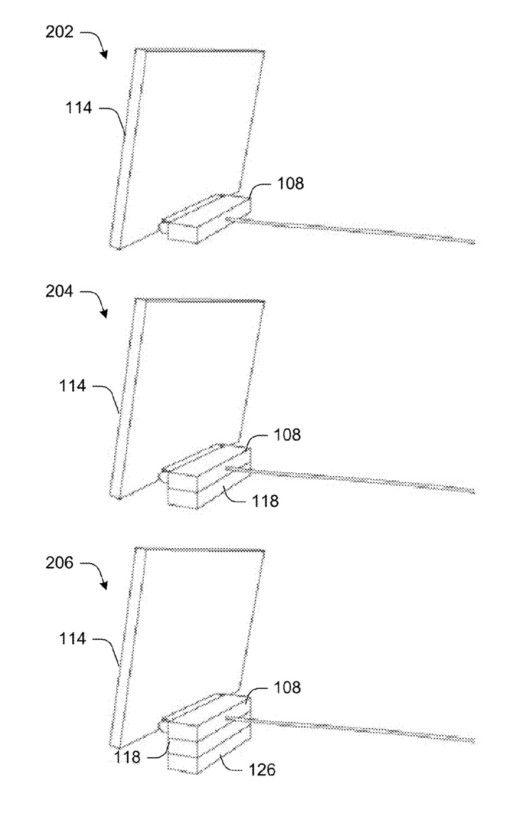 Módulos de memória RAM, armazenamento e até placa de vídeo seriam encaixados junto à unidade de processamento na parte traseira do PC Surface