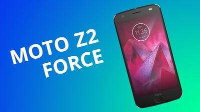 Moto Z2 Force e sua tela indestrutível [Análise / Review]