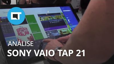 All-in-One Vaio Tap 21 fica mais leve e portátil [Hands-on]