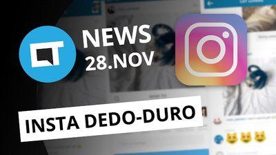 Instagram agora dedura stalkers; bug do iOS 10.1 devora baterias dos iPhone e + [CTNews]