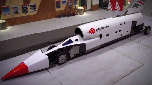 Carro projetado para atingir velocidade de 1600 km/h fará teste em outubro