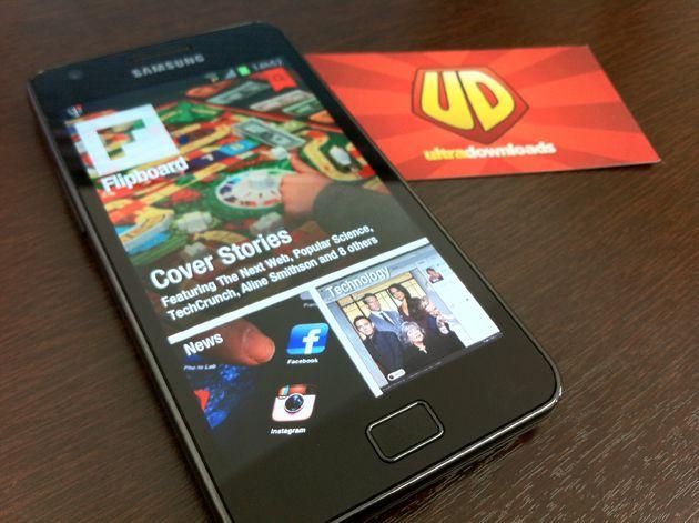 Flipboard no Galaxy S II