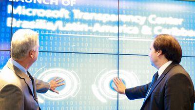 Microsoft abre, em Brasília, primeiro Centro de Transparência da América Latina