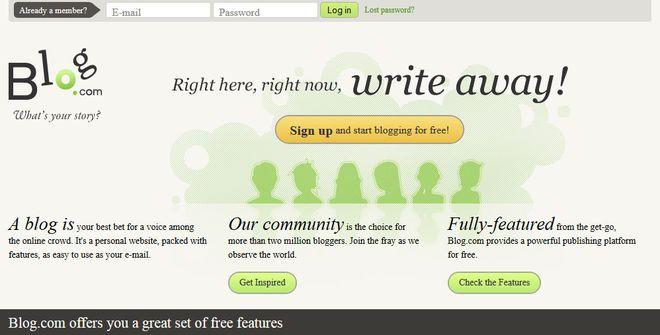 Melhores plataformas para blog