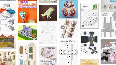 Dica | Paper toys são a opção barata para uma árvore de Natal com estilo