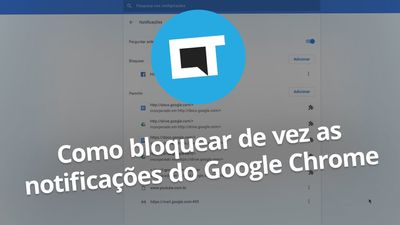 Como bloquear TODAS as notificações do Google Chrome
