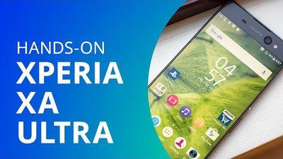 Sony Xperia XA Ultra [Hands-on]