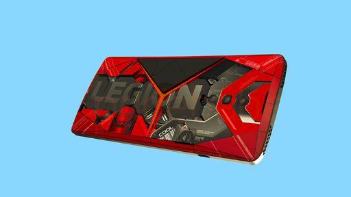 Smartphone gamer Lenovo Legion tem visual revelado em site de patentes