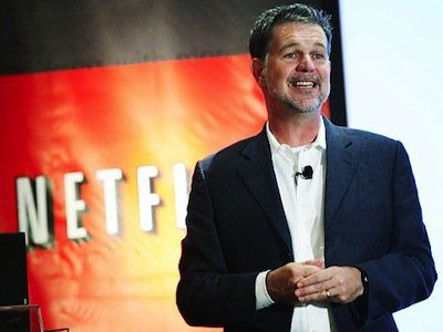 CEO Netflix Reed Hastings
