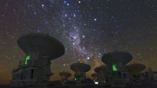 Quais são os principais instrumentos usados para a observação do espaço?