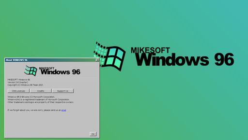 Alguém criou uma versão web do Windows 96 — e você vai querer experimentá-la