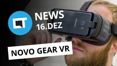 Polêmica do e-Sedex, BlackBerry terceiriza smartphones, gadgets de VR da Samsung [CTNews]