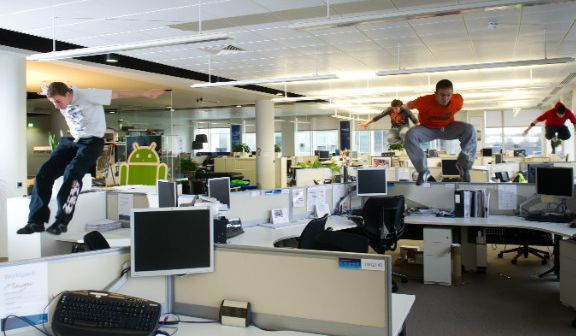 Geração Y escritórios