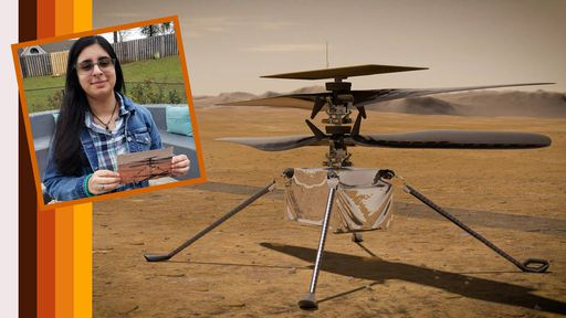 Helicóptero da NASA que vai para Marte ganha nome escolhido por uma adolescente